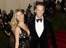Tom Brady s manželkou, Gisele Bundchen