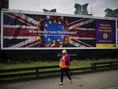 Británia, bilbord, imigranti, UKIP,