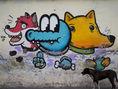 pes, grafiti
