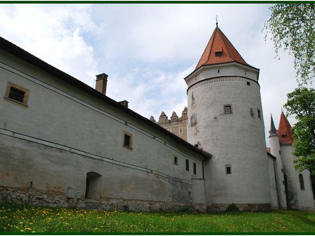 kezmarok hrad flog