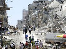 Sýria, Homs, kríza, bombardovanie,