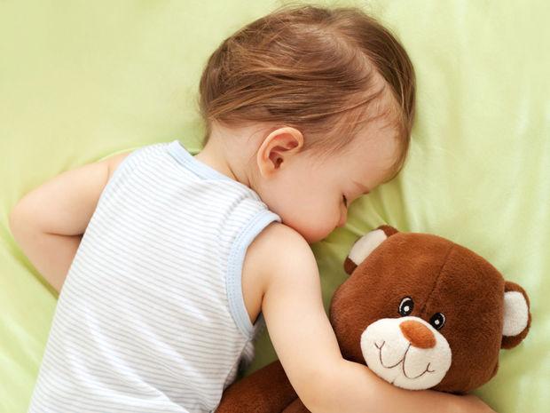 dieťa, mama, spánok