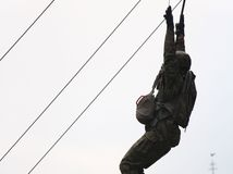 vojak, parašutista, výcvik, armáda