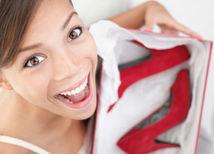 topánky - radosť - žena - nákup