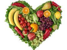 srdce, výživa, ovocie, zelenina