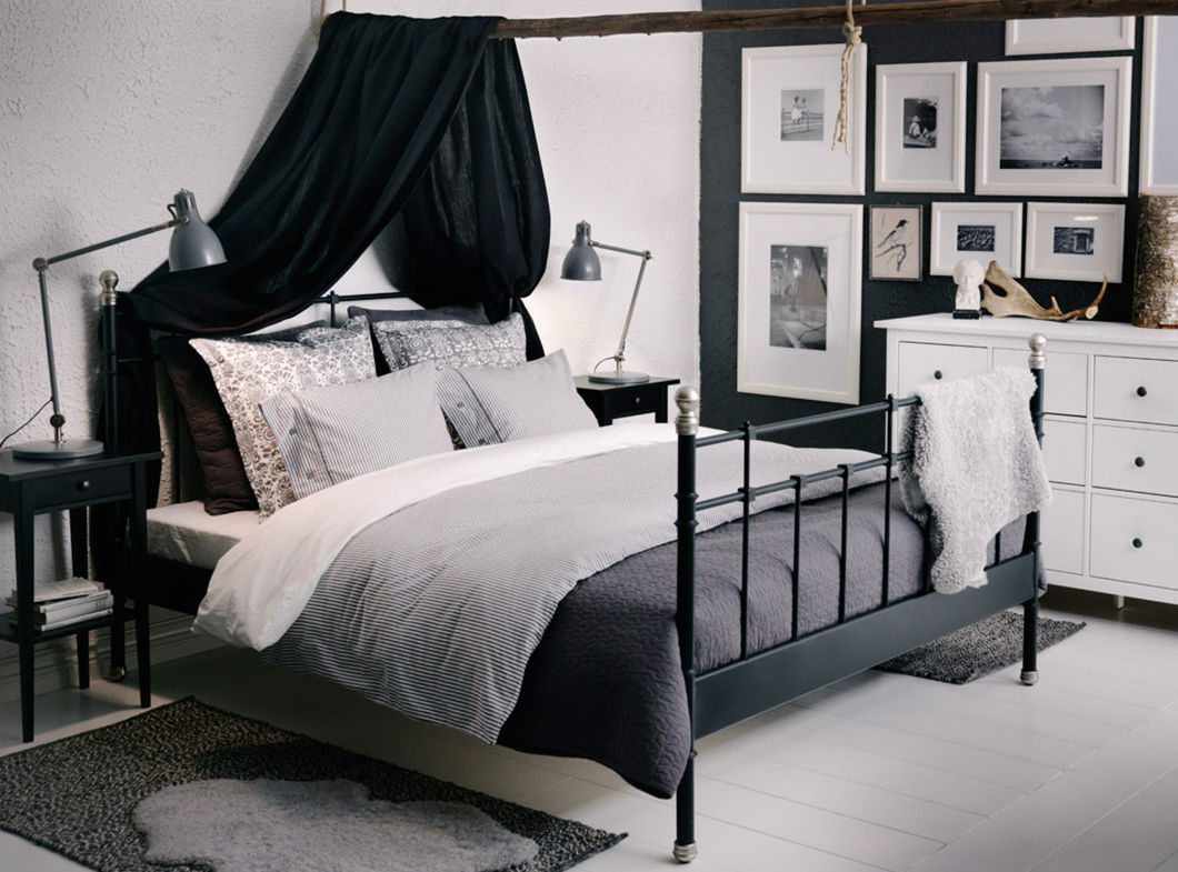 gardinen deko » gardinen schlafzimmer ikea - gardinen dekoration, Schlafzimmer entwurf