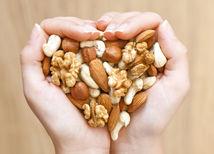 orechy, zdravé potraviny, antioxidanty