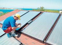 solár, panel, dom, byt, slnečné kolektory