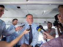 Andrej Kiska, prezident, lietadlo