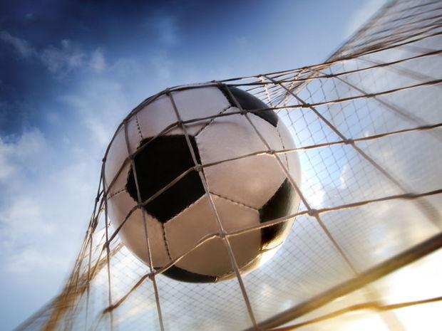 futbal, futbalová lopta, futbalová bránka, sieť, gól