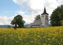 kostol, Ludrová, Liptov