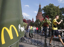 Rusko, Moskva, McDonald's