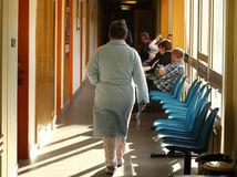 pacient, čakáreň, nemocnica