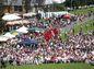 Atmosféra počas osláv 70. výročia SNP v Banskej Bystrici.