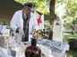 Vojenská historická nemocnica počas osláv výročia SNP v Banskej Bystrici.