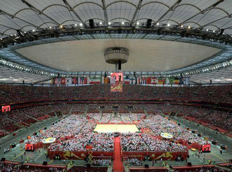 Pozrite si: poľských volejbalistov hnalo cez 60-tisíc divákov!
