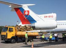 humanitárna pomoc Slovenska, Ukrajina, vládny špeciál