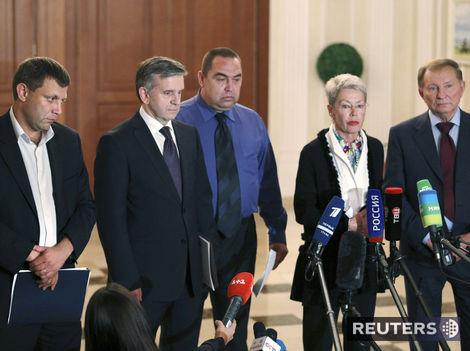 Kyjev a separatisti sa dohodli na nárazníkovej zóne