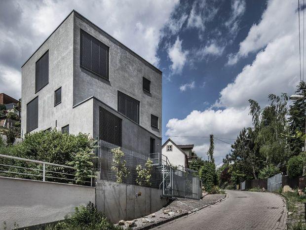 Kategória Rodinné domy: Rodinný dom Dlhé diely (Bratislava); Autor: Maroš Fečík; Foto: Maroš Fečík