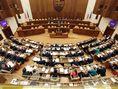 parlament, hlasovanie, ustavny zakon, rokovacia sala,