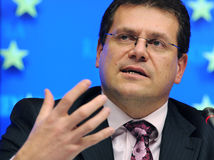 Maroš Šefčovič, EÚ, Brusel, eurokomisár