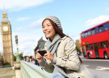 Londýn, turista, čínska