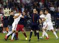 Futbalisti, Srbsko, Albánsko, nepokoje