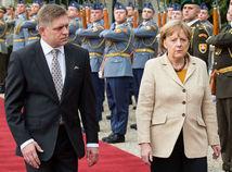 Angela Merkelová na Slovensku, Robert Fico