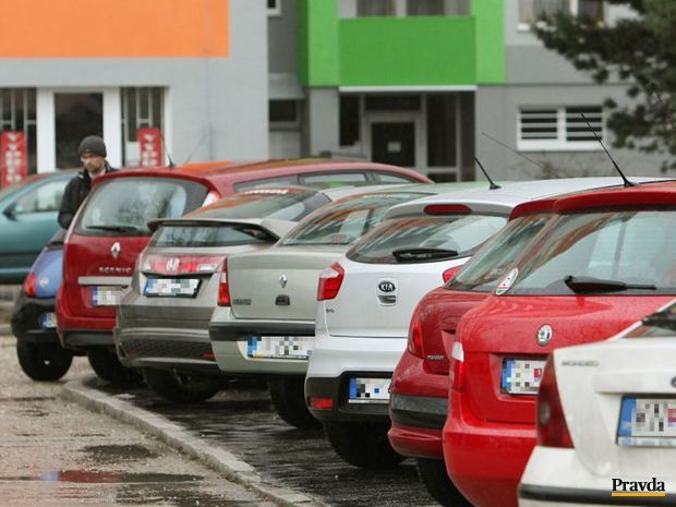 parkovanie, parkovisko, auto
