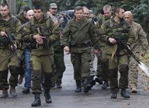 Ukrajina, povstalci