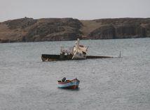Kapverdy, chudoba, Afrika, loď, Atlantik