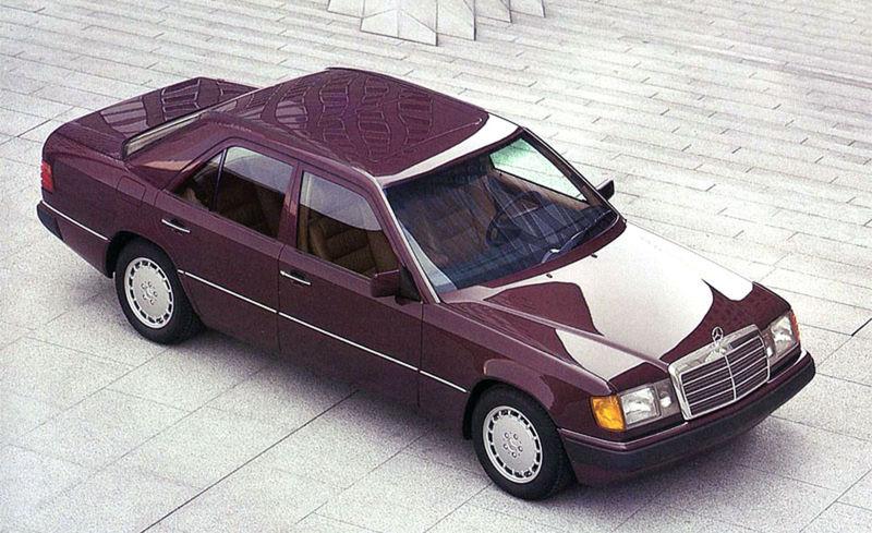V roku 1984 vystriedal Piano nový revolučný model W124. Ten už kompletne navrhoval geniálny Talian Bruno Sacco.