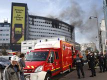 Paríž, rozhlas, požiar,