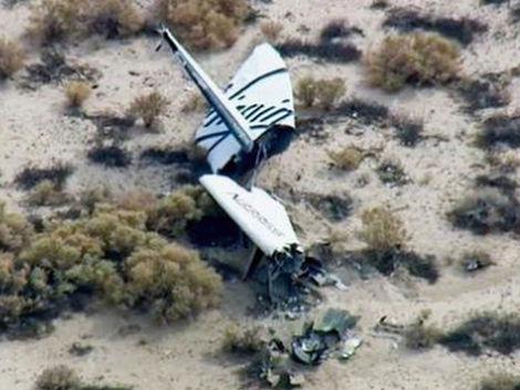 Vesmírna loď pre turistov počas testu vybuchla, jeden z pilotov zahynul