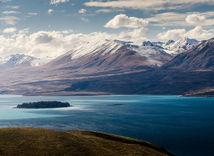 Novy Zeland, Tekapo, zima,