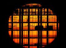 slnko, mrakodrap, stavba