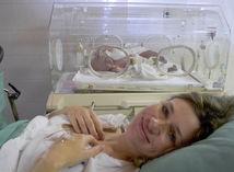 inkubátor, predčasne narodené dieťa