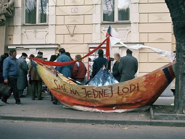 November 1989: Sme na jednej lodi