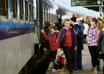 vlaky, stanica