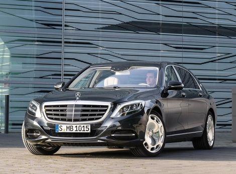 Mercedes-Maybach: Vlajková loď Daimleru má logo trojcípej hviezdy