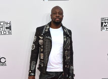 42nd Annual American Music Raper a producent Wyclef Jean.- Arrivals