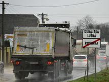 Dunajská Lužná, protest, blokáda, doprava, cesty, autá,