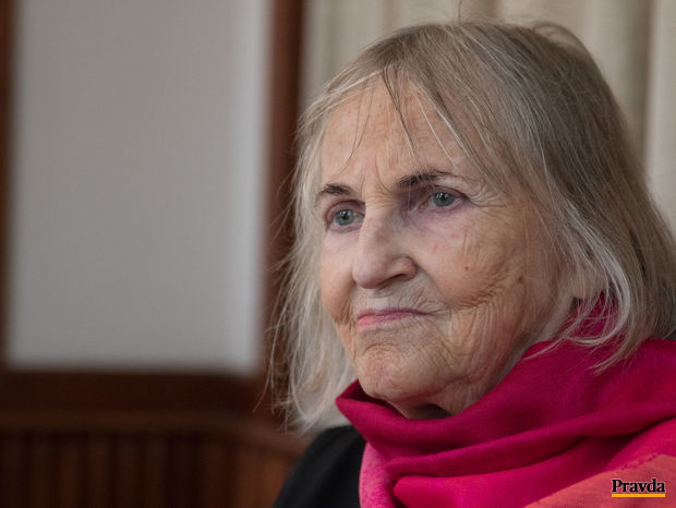 Spisovateľka Jaroslava Blažková.