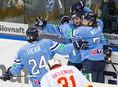 Tomáš Netík, Žiga Jeglič, Rok Tičar, Slovan, hokej, KHL, radosť