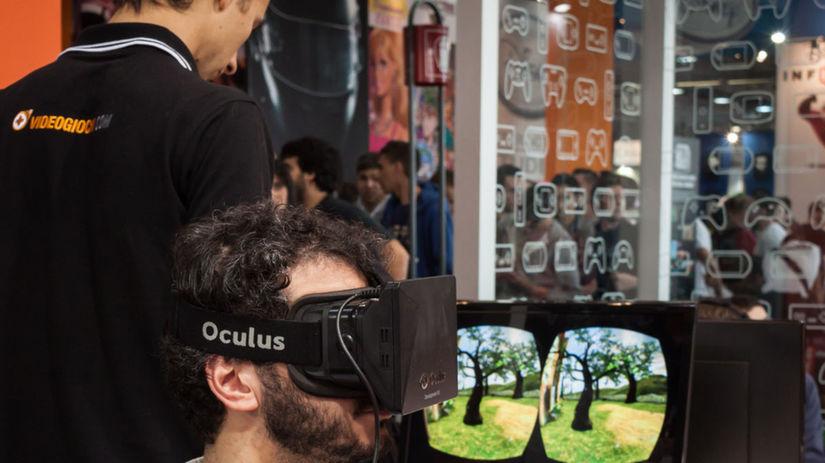 11ecbec63 Oculus Rift: nová technológia, ktorá umožní vnímať virtuálny ...