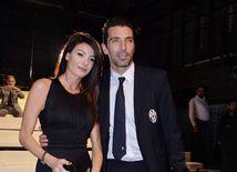 Ilaria D'Amico a Gigi Buffon