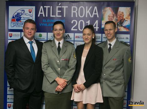 Chodec Matej Tóth sa stal víťazom ankety Atlét roka 2014