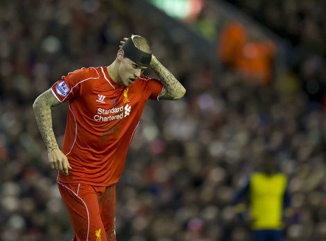 Video: Škrtel s tržnou ranou na hlave v 97. minúte zachránil Liverpoolu bod