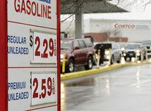 USA, benzín, nafta, palivá