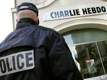 francúzsko, vydavateľstvo, charlie hebdo, policajt, police, paríž